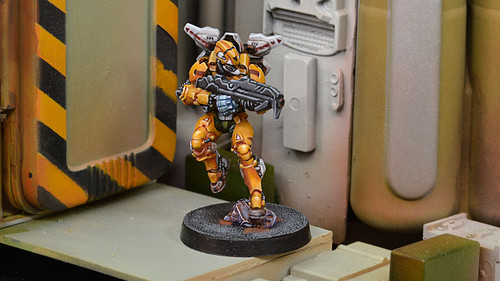 Infinity Tiger Soldiers (Spitfire / Boarding Shotgun) - Yu Jing
