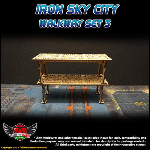 Iron Sky City Walkway Set C