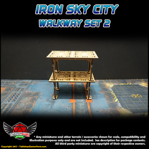 Iron Sky City Walkway Set B
