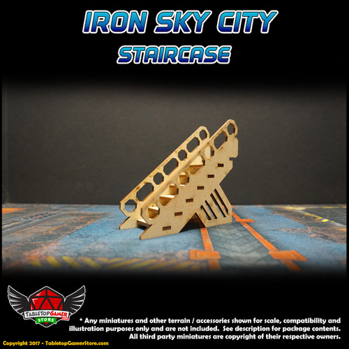 Iron Sky City Staircase