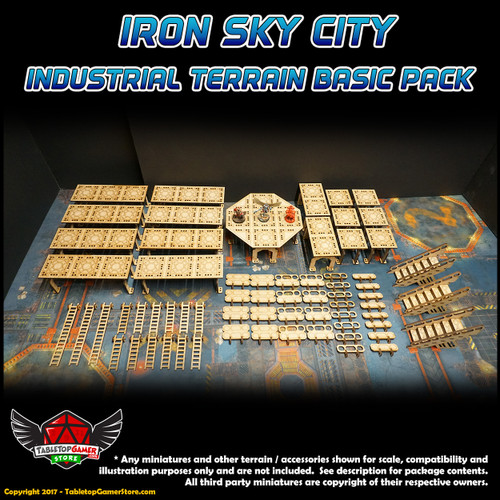 Iron Sky City Industrial Terrain Basic Pack