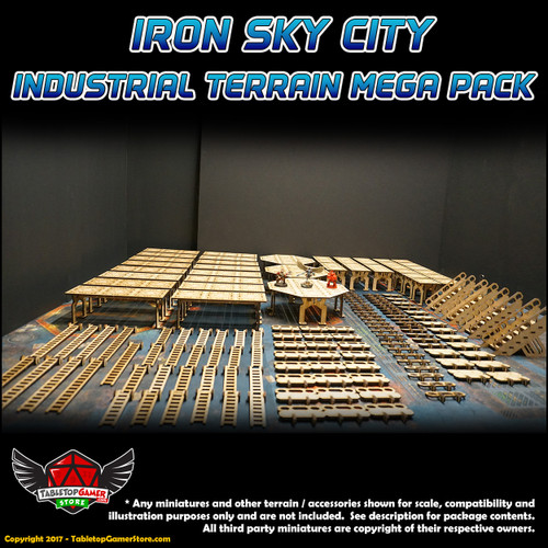Iron Sky City Industrial Terrain Mega Pack