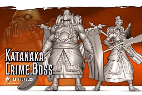 Malifaux Katanaka Crime Bosses - Ten Thunders - M2E