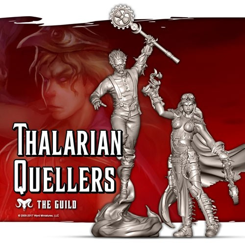 Malifaux Thalarian Quellers - Guild - M3E Upgraded