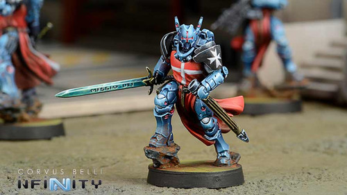 Infinity Knights Hospitaller - PanOceania