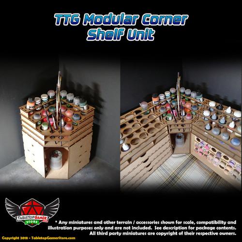 TTG Modular Corner Shelf Unit