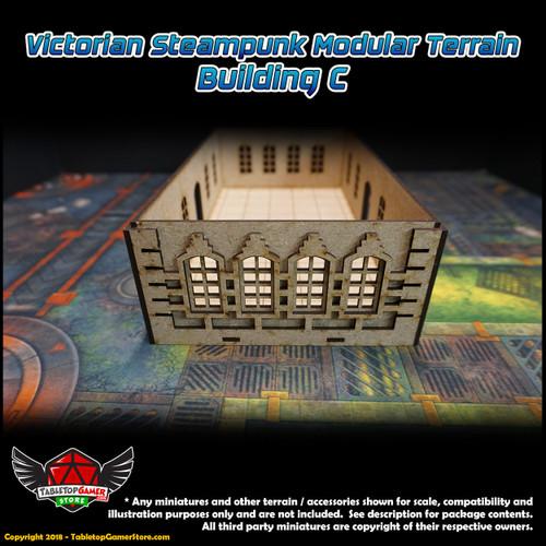 Victorian Steampunk Modular Terrain - Building Type C