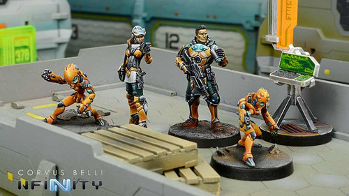 Infinity Mech Engineers Army Box (4) - Yu Jing