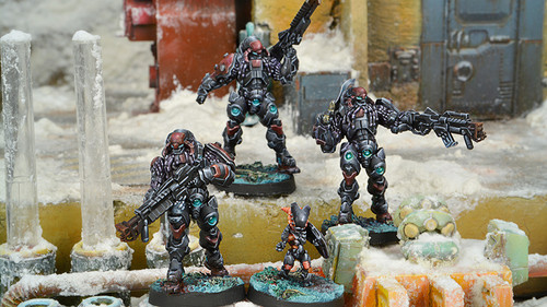Infinity Suryats Assault Heavy Infantry - Combined Army