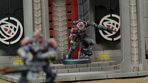 Infinity Raktorak - Morat Sergeant Major - Combined Army