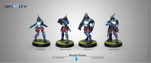 Infinity Magister Knights Unit Box - PanOceania