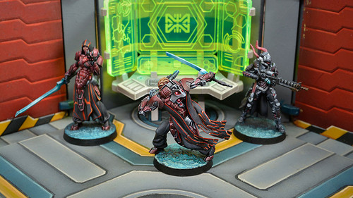 Infinity Umbra Legates (Boarding Shotgun) - Combined Army