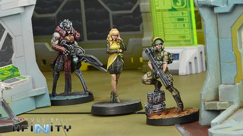 Infinity Dire Foes Mission Pack 7 - Candy Cloud - Combined Army