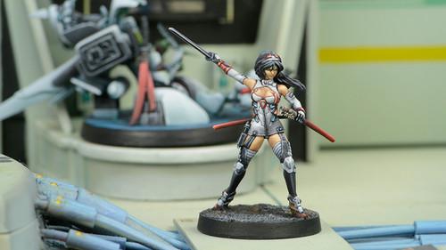 Infinity O-Yoroi Pilot - Yu Jing