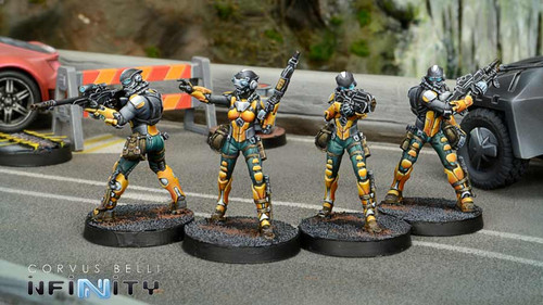 Infinity Celestial Guards - Yu Jing
