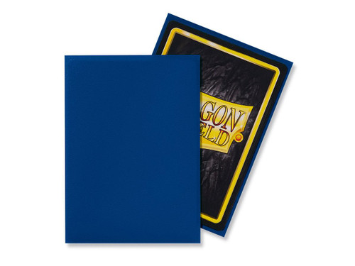Dragon Shield Card Protectors - Matte - Blue - 100 Pack