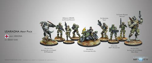 Infinity USAriadna Army Pack - Ariadna
