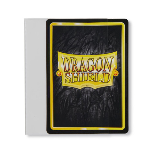 Dragon Shield Sleeves - Perfect Fit Sideload - Clear - 100 Pack
