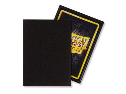 Dragon Shield Card Protectors - Matte - Black - 100 Pack