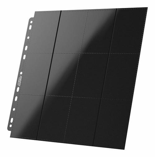 Ultimate Guard - Pages - Side Load 24-Pocket Black - 10 Pack