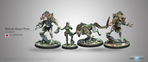 Infinity Antipode Assault Pack - Ariadna