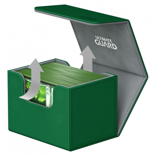 Ultimate Guard - Deck Box - Sidewinder XenoSkin Green - 100+