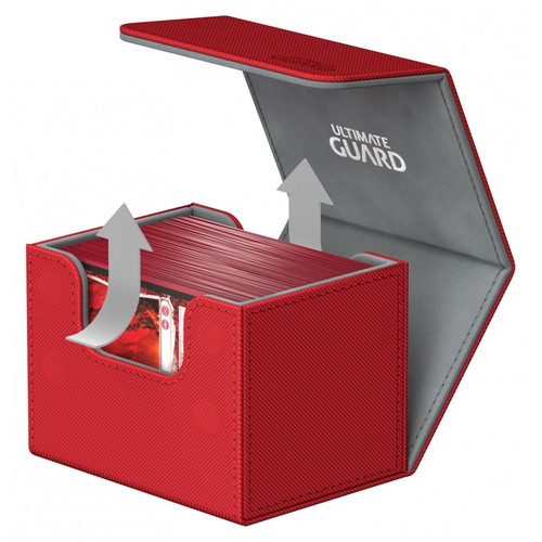Ultimate Guard - Deck Box - Sidewinder XenoSkin Red - 100+