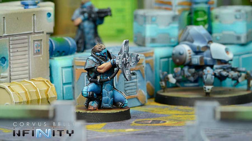 Infinity Zulu-Cobra, Special Recon & Intervention Group (Jammer) - PanOceania