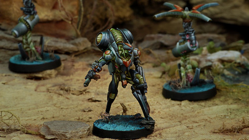Infinity Ikadron Batroids and Imetron - Combined Army