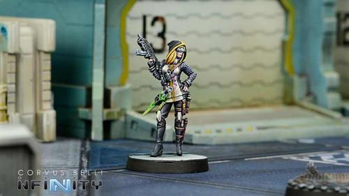 Infinity Dart, Optimate Huntress (SMG, Grenades) - ALEPH