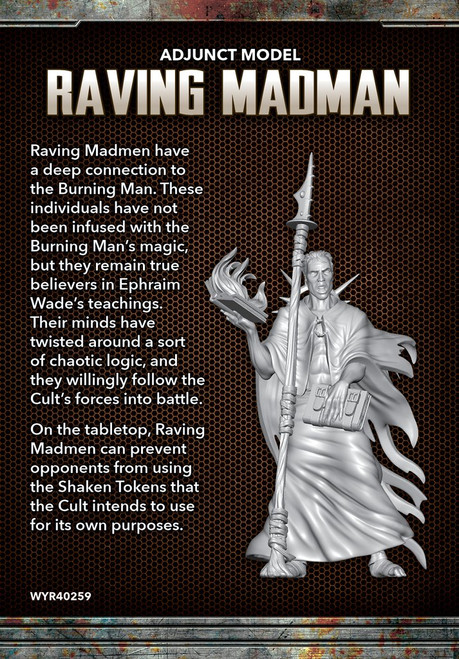 The Other Side - Cult of the Burning Man - Raving Madman