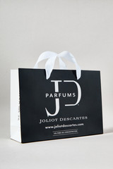 Gift Bag:  Take your gift to the next level with an elegant Joliot Descartes gift bag