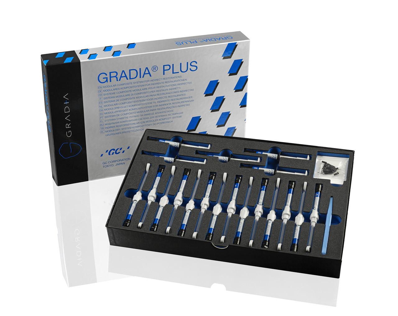 GRADIA PLUS - Brush - Flat #1, 10 pieces