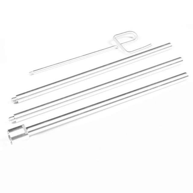 Rod Set and Nut for Steamers Complete with a 7.5' Hose - Style B