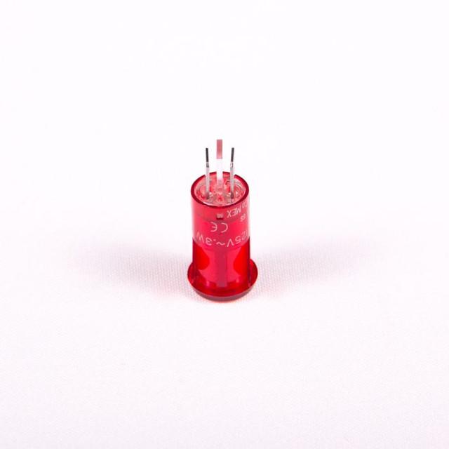 Red Neon Pilot Light - 120 Volt