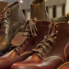 Leather Footwear Shaping