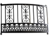 MEXICAN STYLE SCROLL FAUX BALCONY