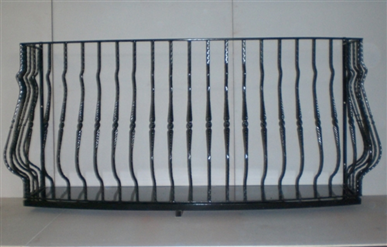 IRON LADY FAUX BALCONY. Choose the width and potter's base size.