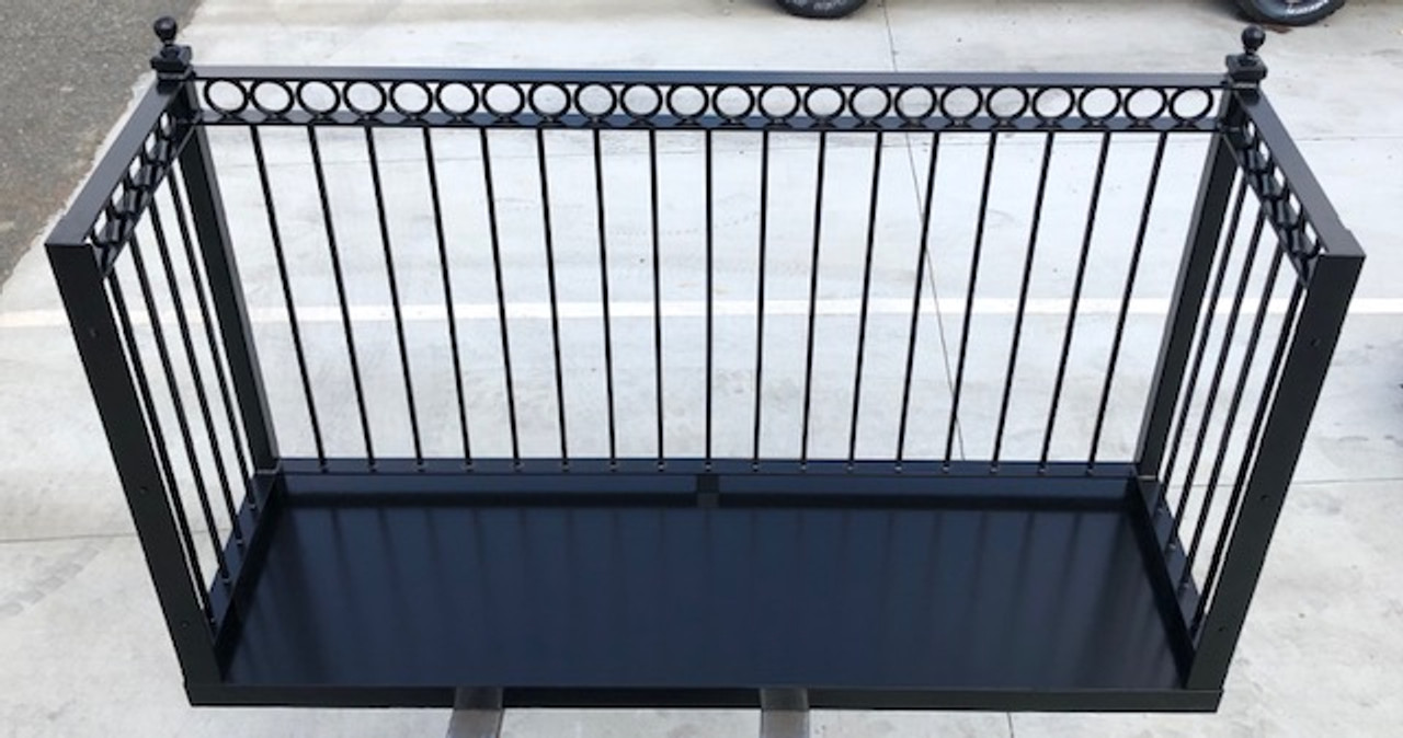RING BAND TRUE BALCONY. Choose your deck's width and depth.