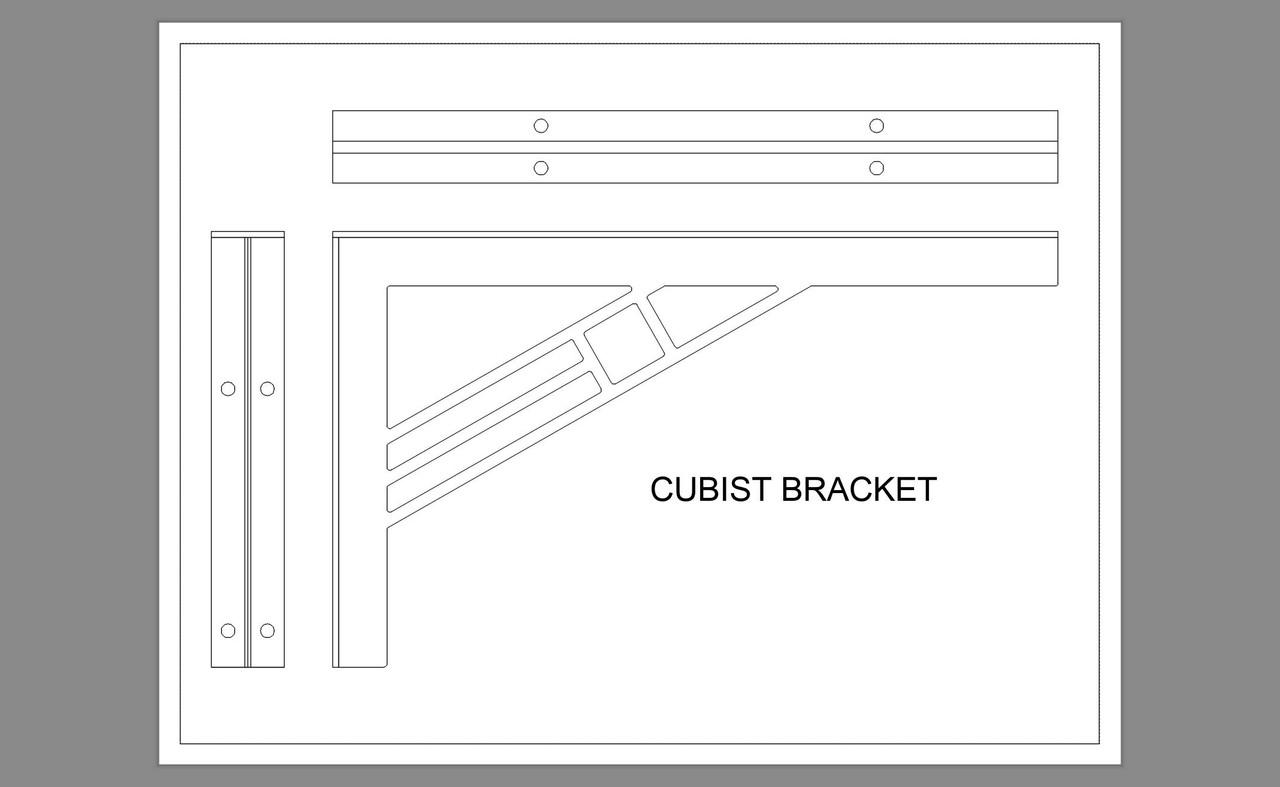 CUBIST BRACKET