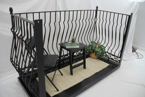 IRON LADY BAROQUE TRUE BALCONY. Choose your deck's width and depth.