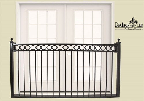 RING BAND STYLE FAUX BALCONY