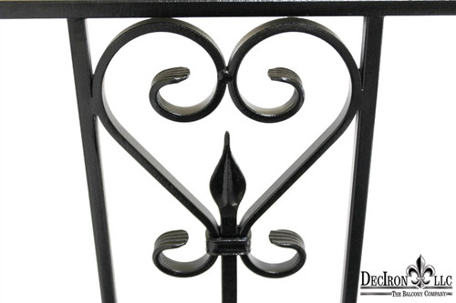 MEXICAN SCROLL FAUX BALCONY 55 WIDE 50% off, regular $1427.00