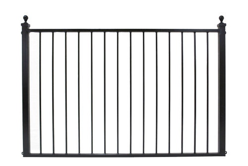 """Solid  1/2"""" pickets and 2x2 corner posts. 46"""" through 82"""" wide, 36 and 42"""" H"""