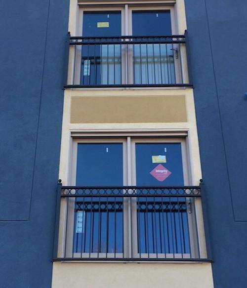 Ring Band Guardrail Balconies