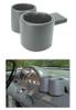 1956 Ford Truck Dual Dashboard Plug & Chug Drink Holder