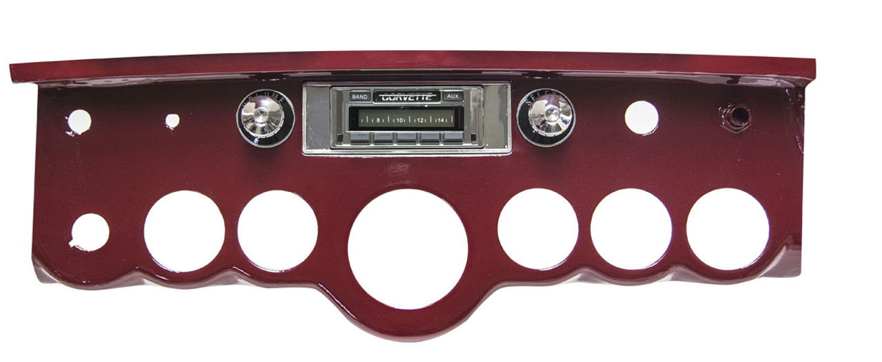 Custom AutoSound 1958-62 Corvette USA-230 In Dash AM/FM
