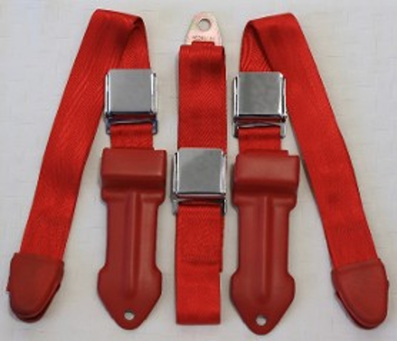 1964-1967 Mopar B Body Bench Seat Lap Belts