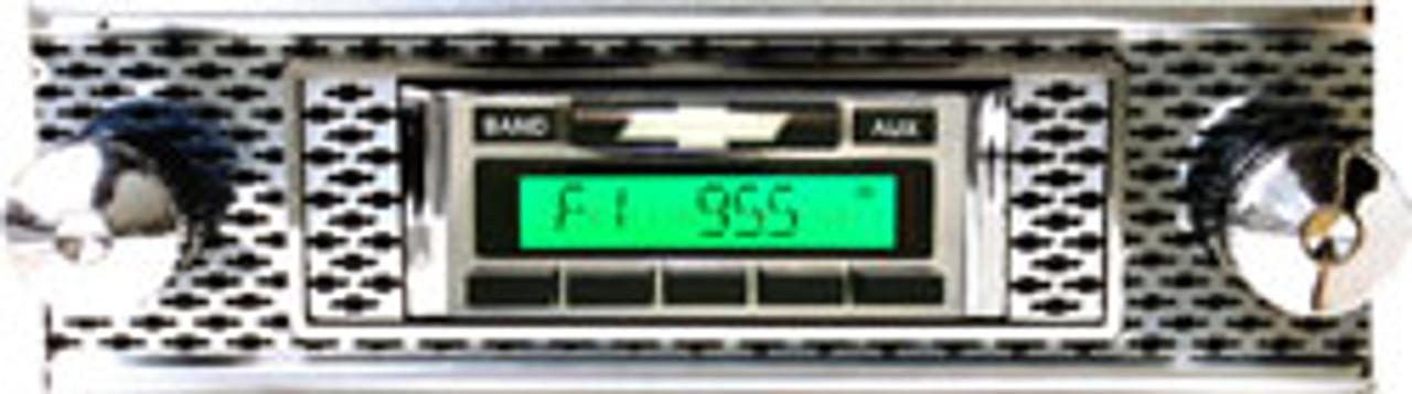 Custom AutoSound 1955 Chevy 210 USA-230 In Dash AM/FM