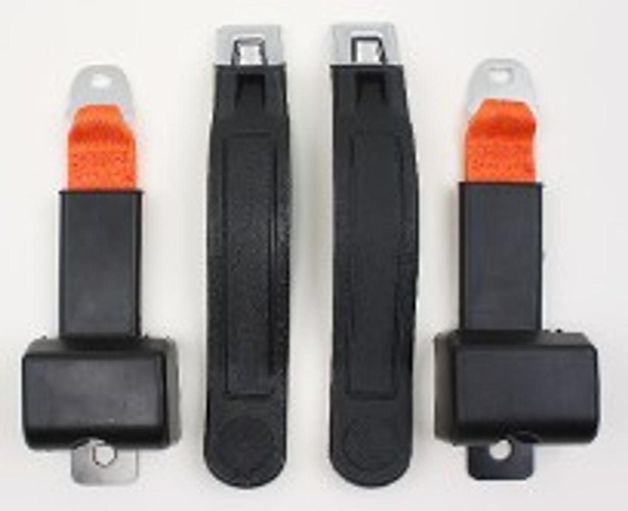 1976-81 Jeep Wrangler Retractor Front Shoulder/Lap Belts